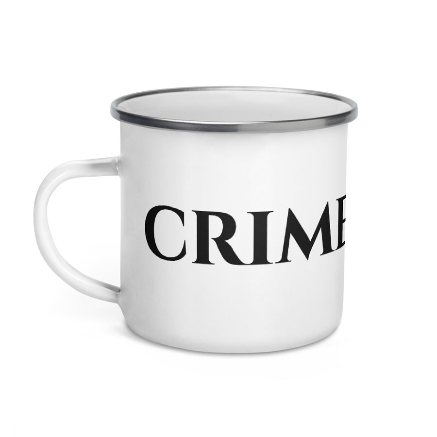 CrimeSonics Enamel Mug