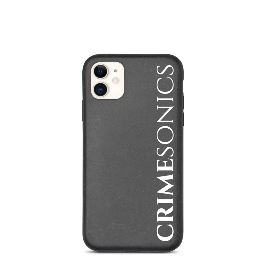 CrimeSonics Biodegradable iPhone Case