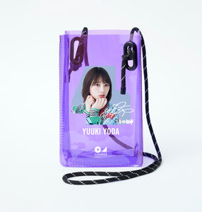 "NogiCHARGE Original battery case ""Yuki Yoda + autograph"""