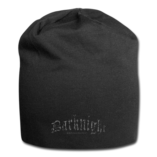 Darknight | Jersey Beanie - black