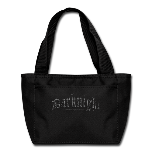 Darknight | Lunch Bag - black