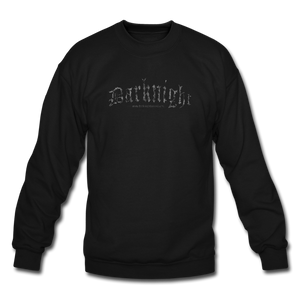 Darknight | Crewneck Sweatshirt - black