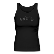 Load image into Gallery viewer, Darknight | Women's Long-Length Tank - black