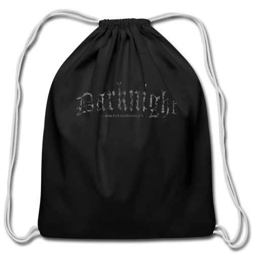 Darknight | Drawstring Bag - black