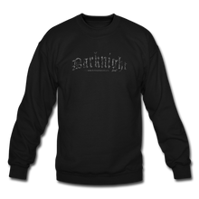 Load image into Gallery viewer, Darknight | Crewneck Sweatshirt - black