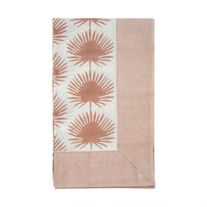 Palm Leaf Table Cloth - Multiple Colors