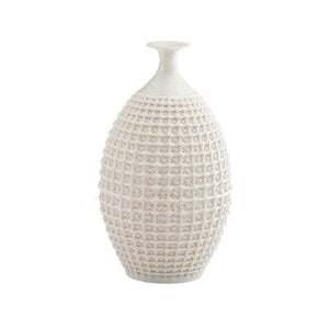 Cross Hatch Ceramic Vase - Large