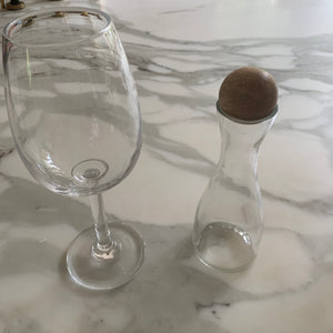 Cruet Set with Wooden Ball - Set of 2