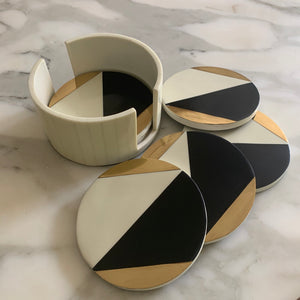 Deco Bone Coasters