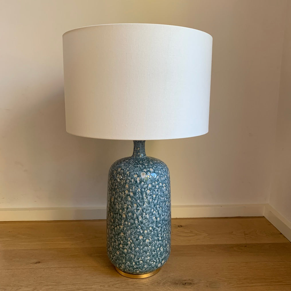 Cullodon Blue Table Lamp