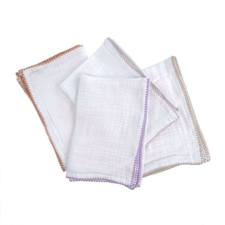 Fringe Napkins  - Set of 4