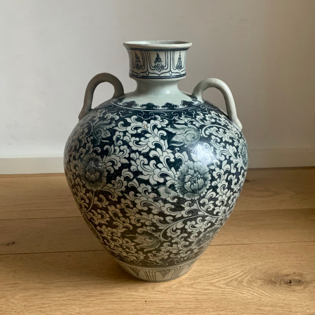 Chinese Glazed Porcelain Jar