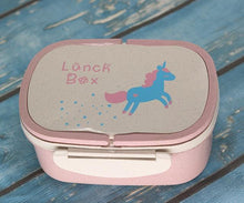 Load image into Gallery viewer, Unicorn Bento Box