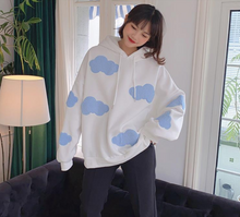 Load image into Gallery viewer, Soft Clouds Hoodie