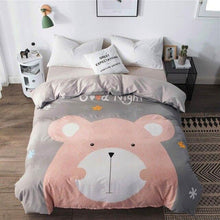 Load image into Gallery viewer, 100% Cotton Panda Duvet Cover