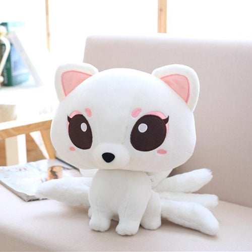 Nine-Tailed Kitsune Fox Plush