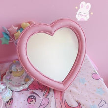 Load image into Gallery viewer, Pink Heart Mirror