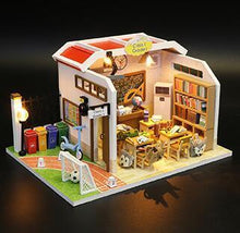 Load image into Gallery viewer, M907 Chinese classroom Miniatura Wooden Doll House Furniture Dollhouse Miniature Accessories Puzzle Toy Model Kits Toys Gift - Kawaii-Crafts.com