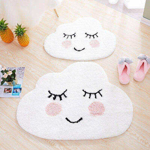Smiling Clouds Floor Mat