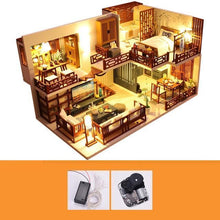 Load image into Gallery viewer, New Doll House Furniture Wooden Toys Diy Dollhouse Miniature Dollhouse Assemble 3D Miniaturas Puzzle Toys For Children Girl Gift - Kawaii-Crafts.com