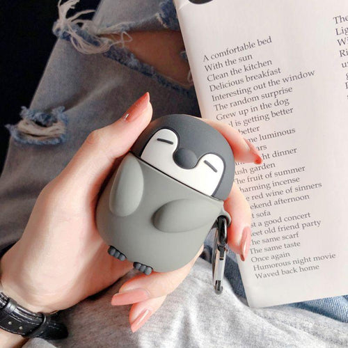 Penguin Air Pods Case