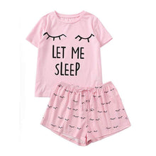 "Load image into Gallery viewer, ""Let Me Sleep"" Pajamas"