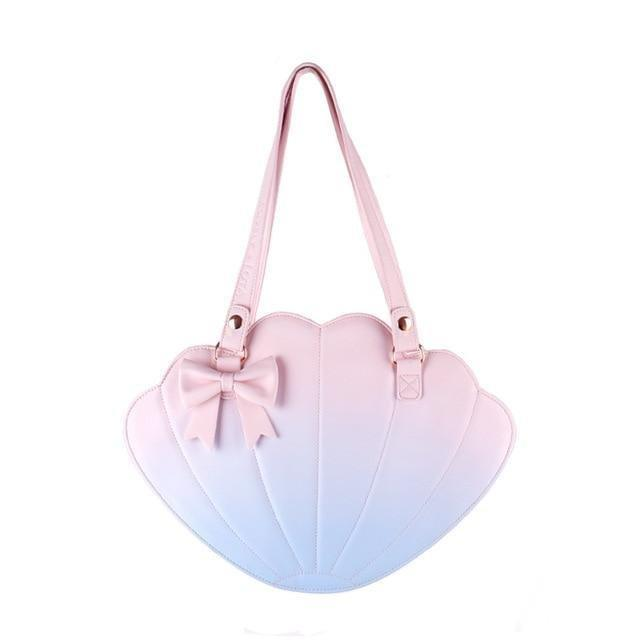 Sweet Lolita Shell Bag With Color Gradient