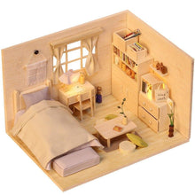 Load image into Gallery viewer, 3D Japanese Style Plain Room Assemble Dollroom Furniture Miniature Dollhouse DIY House Room Miniatures Toys for Children - Kawaii-Crafts.com