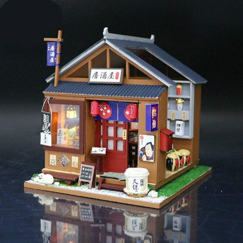Creative Hand-Assembly of Japanese Style Mini-building Model Cabin in Diy Cabin - Kawaii-Crafts.com