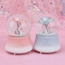 Load image into Gallery viewer, Sakura Romance Musical Crystal Globe With Light