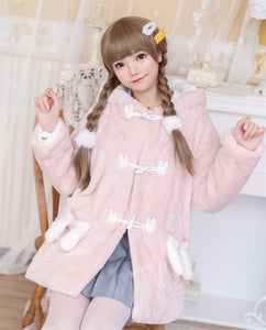 Lolita Pink Winter Overcoat