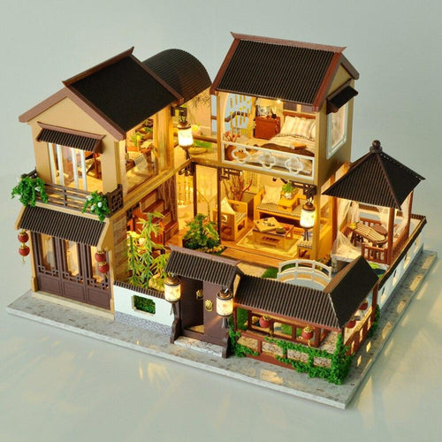 Asian Dollhouse Manor Kit