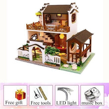 Load image into Gallery viewer, Retro Chinese Dollhouse Villa Kit