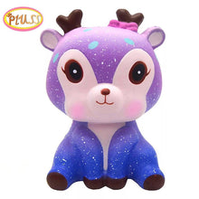 Load image into Gallery viewer, Cute Galaxy Deer Squishy