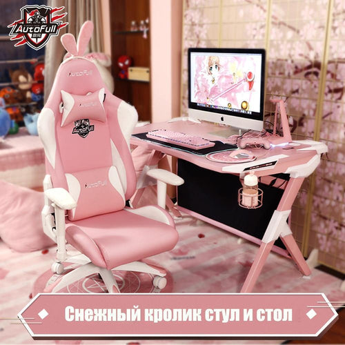 Pink Gaming Desk