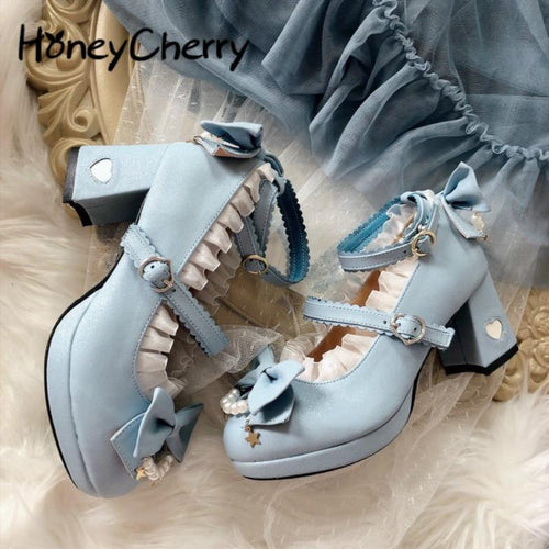 Light Blue Lolita Shoes