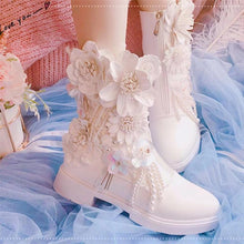 Load image into Gallery viewer, Flower Princess Lolita Boots