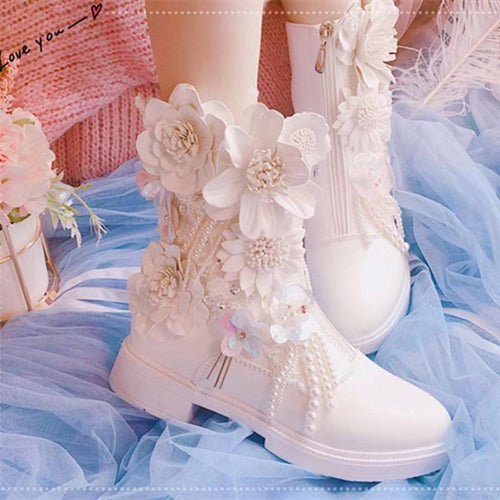 Flower Princess Lolita Boots