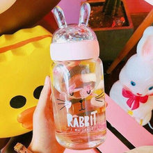 Load image into Gallery viewer, Kawaii Rabbit Water Bottle