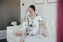 Load image into Gallery viewer, Leaf Print Pajama Set