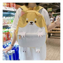 Load image into Gallery viewer, Shiba Inu Backpacks