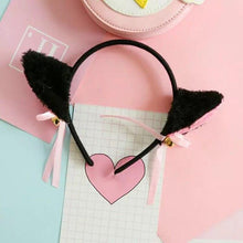 Load image into Gallery viewer, Cat Ears Head Band
