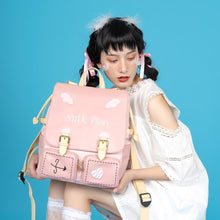 Load image into Gallery viewer, Sweet Lolita Pink Backpack