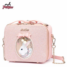 Load image into Gallery viewer, Pink Shoulder Purse