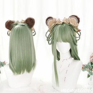 Lolita Mix Green Ombre Wig