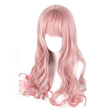 Load image into Gallery viewer, Pink Mixed Red Lolita Wig