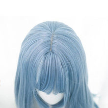 Load image into Gallery viewer, Long Blue Lolita Wig