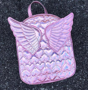 Dazzling Angel Wings Mini Backpack