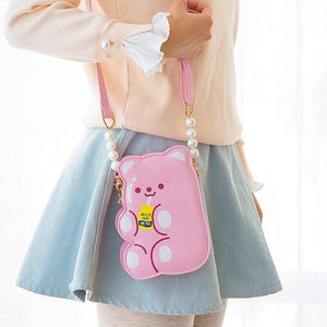 Kawaii Bear Phone Shoulder Bag