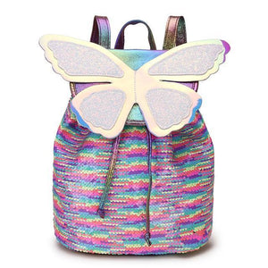 Sequins Fairy Butterfly Backpack